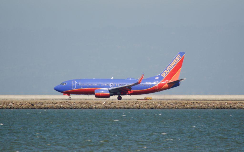 Boeing 737 NG авиакомпании Southwest