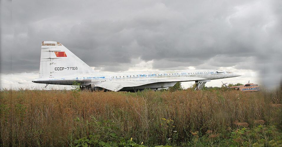 Ту-144 упавший в болото