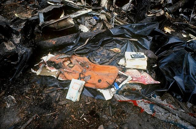 Фото с места катастрофы Ил-62М