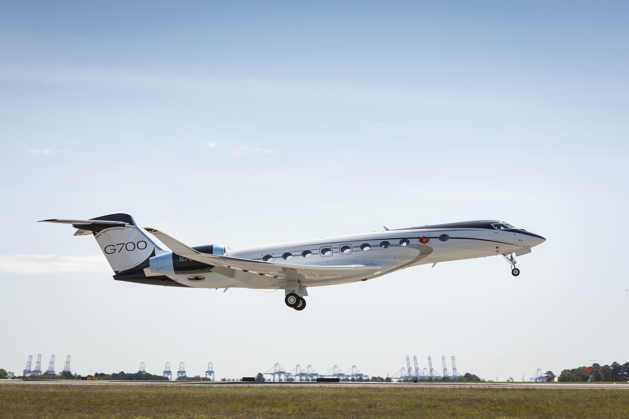 Второй предсерийный  Gulfstream G700