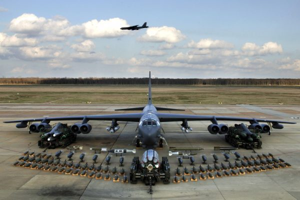 Значительный арсенал B-52 Stratofortress