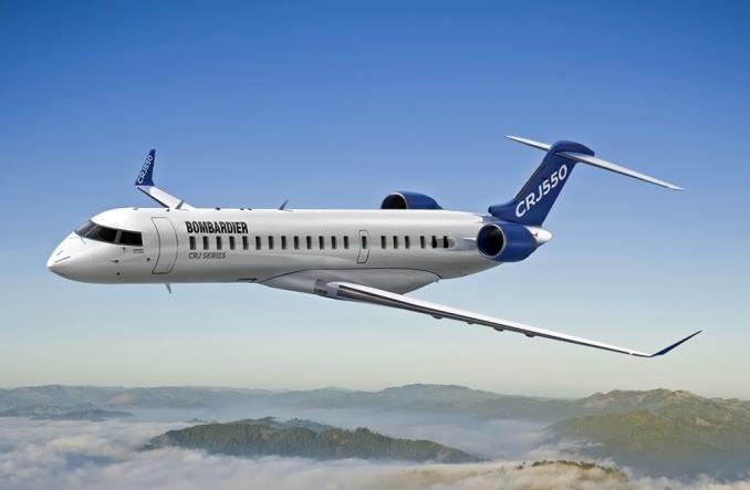 CRJ550 Bombardier становится японским