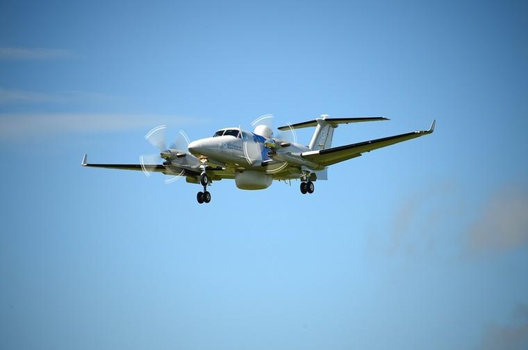 King Air 350CER для американских пограничников