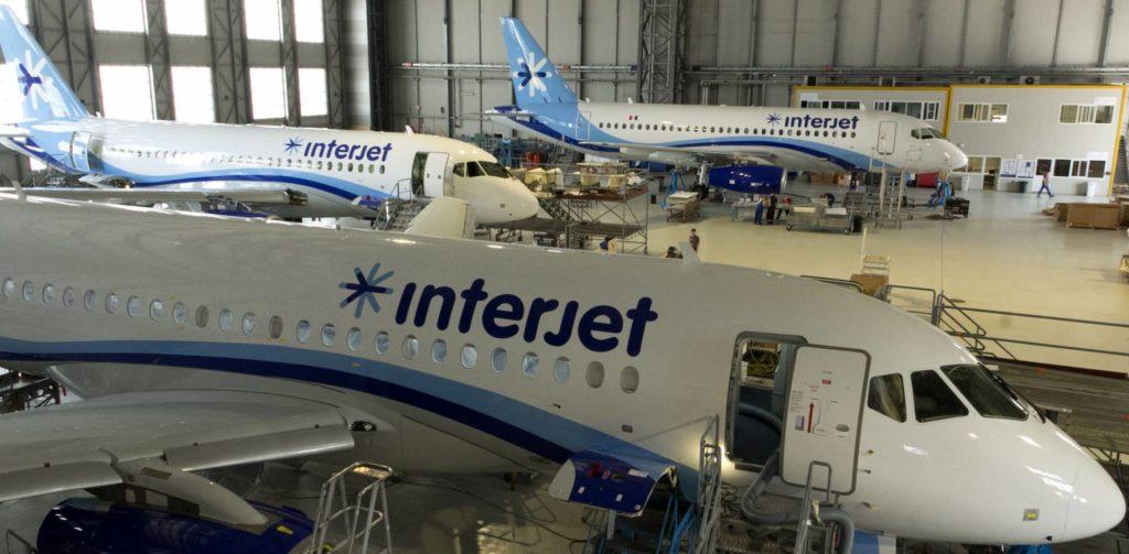 Разборка SSJ-100 на запчасти в ангаре İnterJet