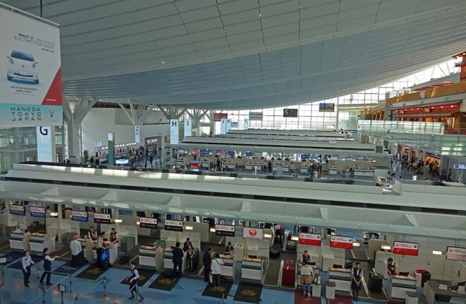 Аэропорт Tokyo Haneda