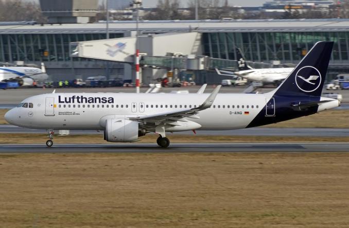 A320neo авиакомпании Lufthansa