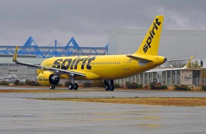 A320 neo авиакопании Spirit Airlines