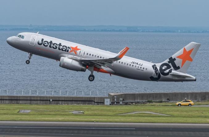 AirbusA320 авиакомпании Jetstar