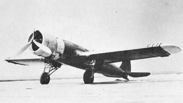 Mak-101 с выдвижными крыльями