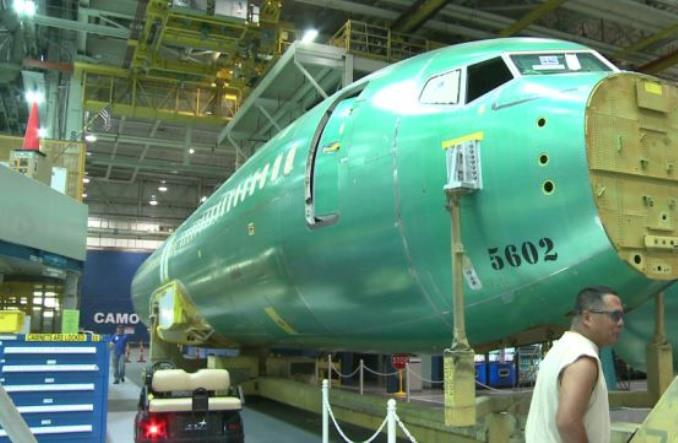 Сборка 737 MAX
