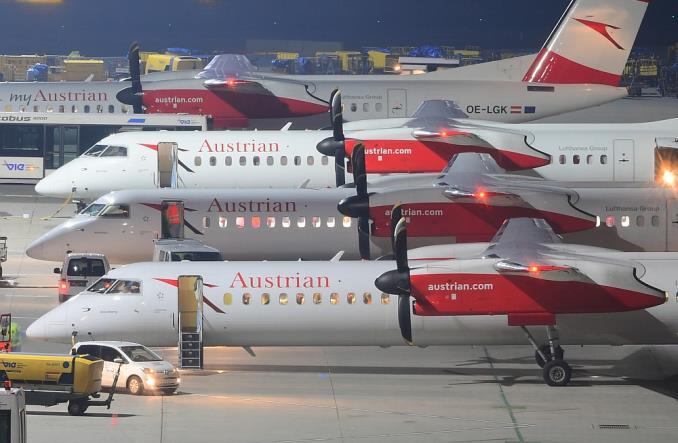 Флот Q400 Austrian Airlines
