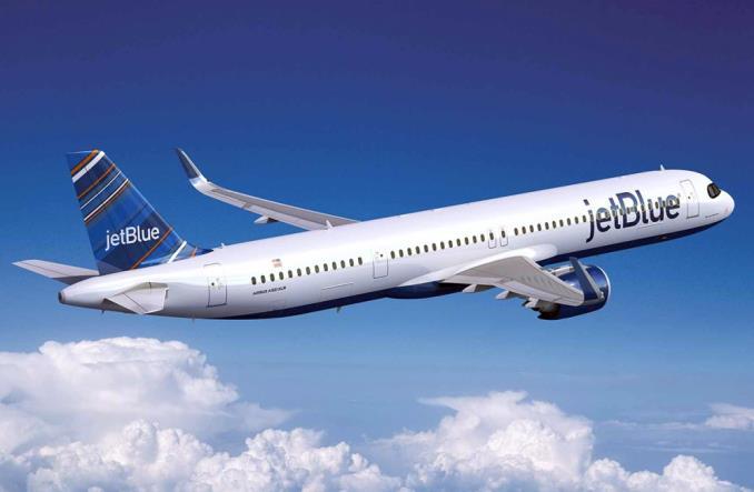 A321XLR авиакомпании JetBlue