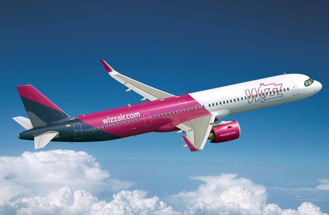 A321XLR авиакомпании Wizzair