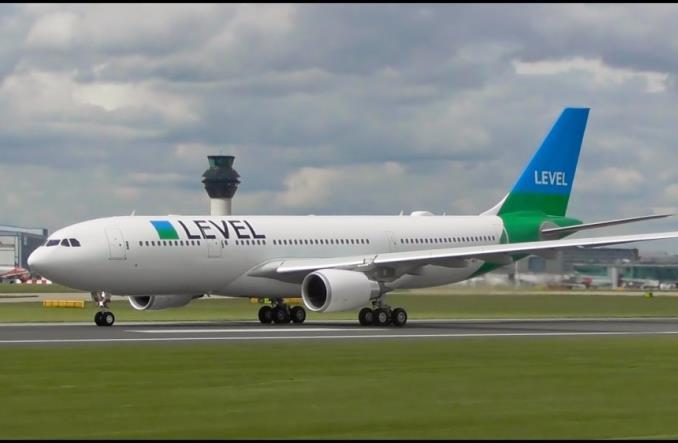 A330-200 авиакомпании Level