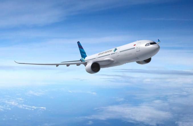 A330-900neo авиакомпании GarudaIndonesia
