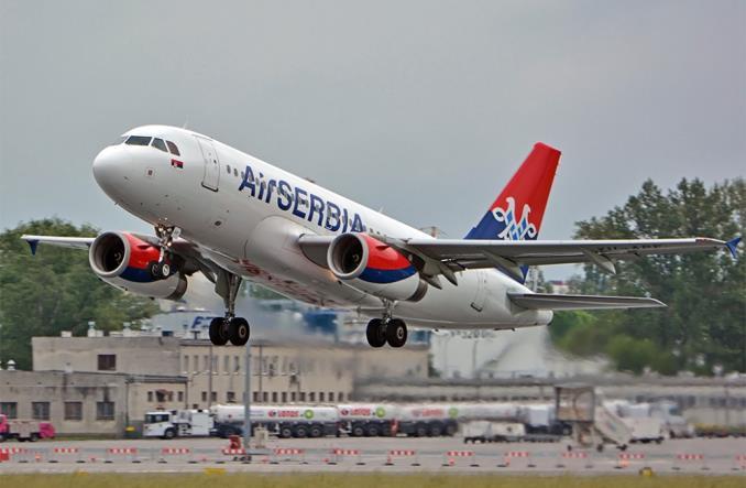 A319 вместо SSJ-100 для Air Serbia