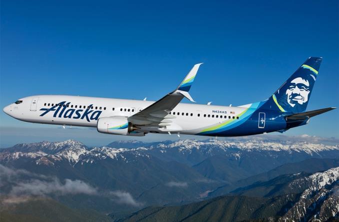 B738 авиакомпании Alaska