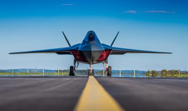 Модель перспективного самолета от BAE Systems