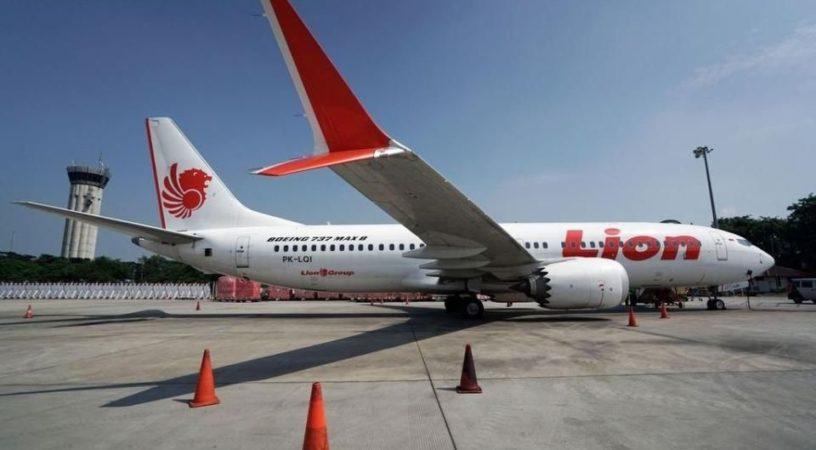Boeing 737 MAX авиакомпании Lion Air