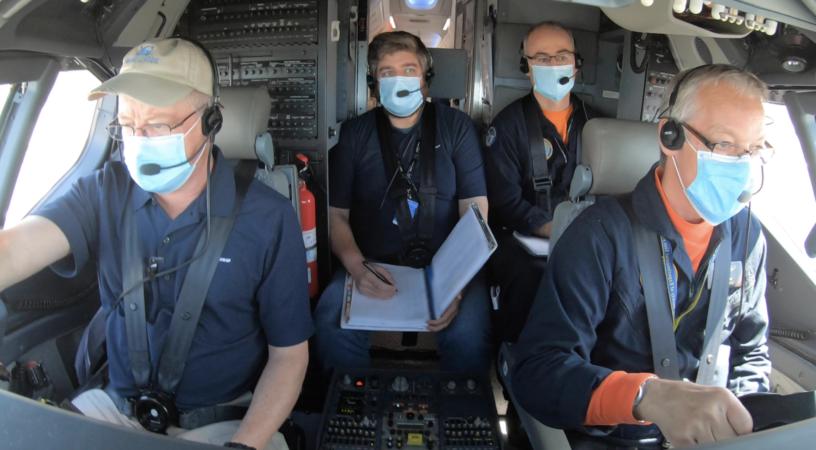 Cпециалисты FAA в кабине Boeing 737 MAX