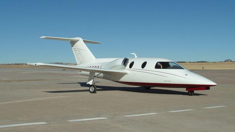 Sport Jet II - самодельный реактивный самолет