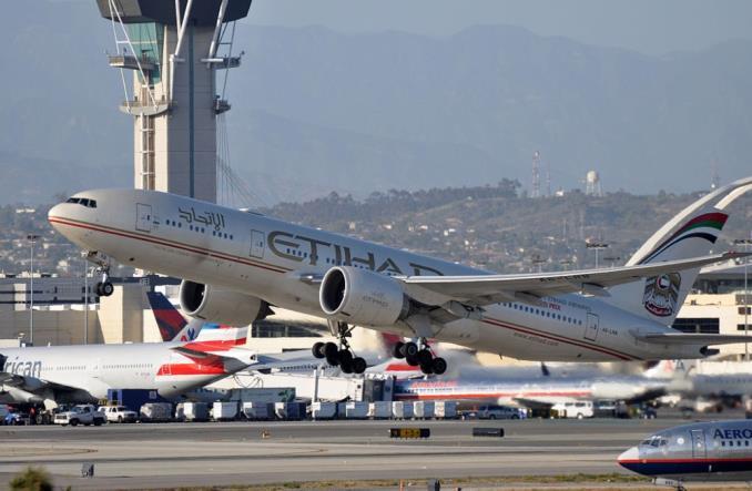 Boeing777 авиакомпании Etihad