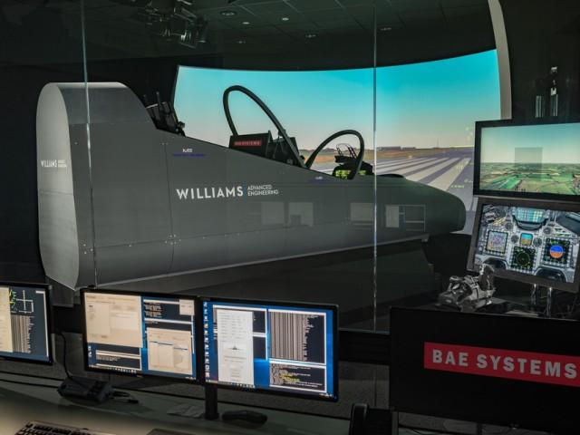 Кабина боевого самолета от Williams Advanced Engineering