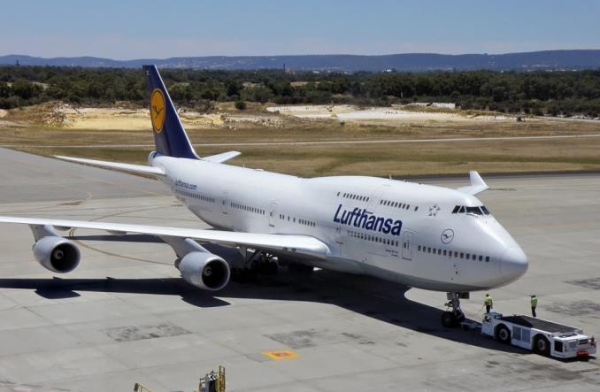 Boeing 747-400 авиакомпании Lufthansa