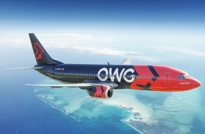 Boeing 737-400 авиакомпании OWG