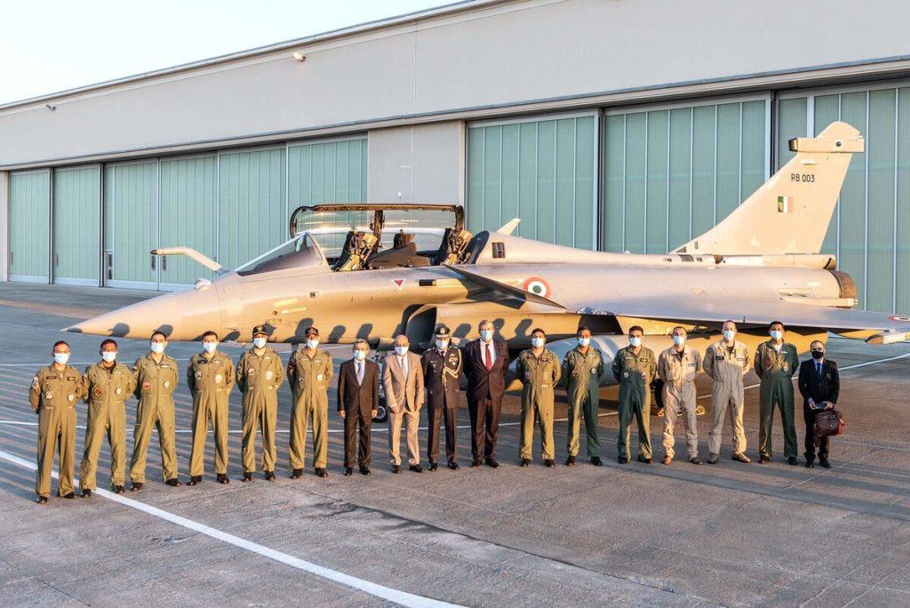 Приемка Rafale на индийской авиабазе