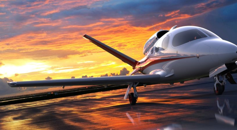Cirrus SF50 Vision Jet в Европе