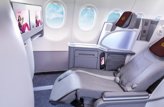 салон бизнес-класса A321neo  Vistara