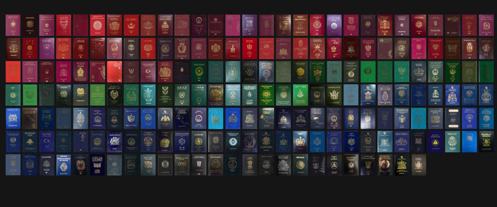 Паспорта и их цвета
