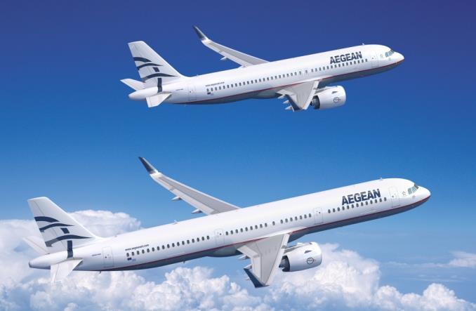 A320neo и A321neo авиакомпании Aegean