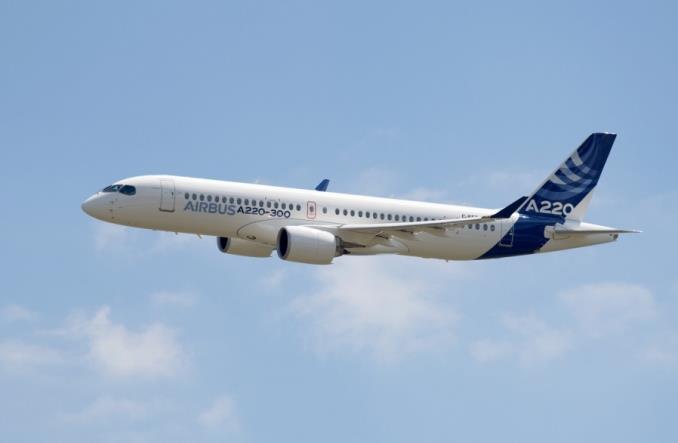 A220-100 авиакомпании Fly Coralway