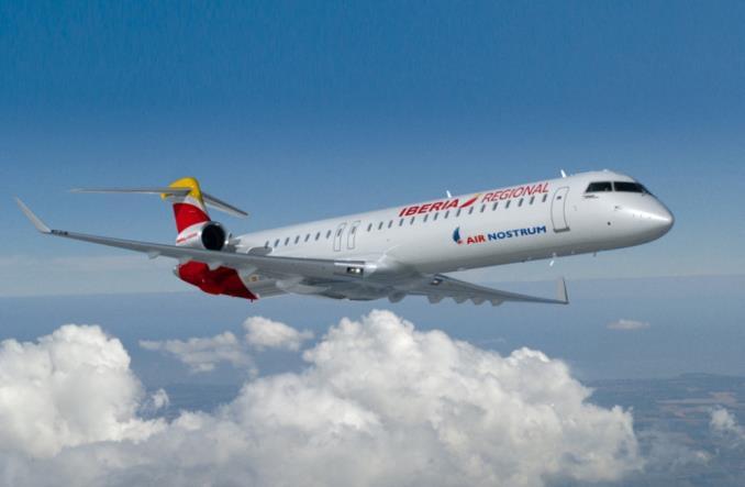 CJ100 авиакомпании Iberia