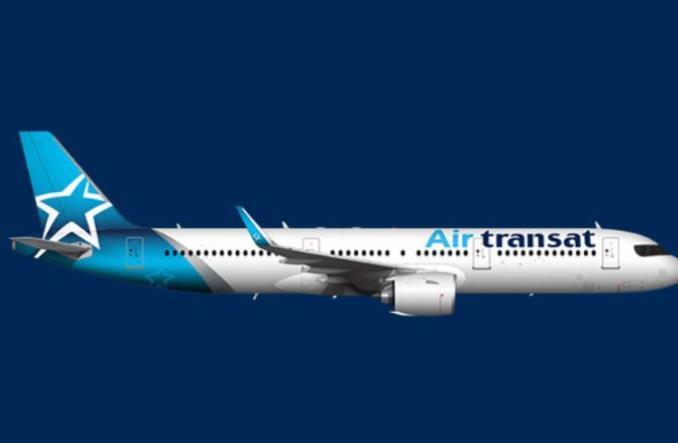 Один из A321neo авиакомпании AirTransat