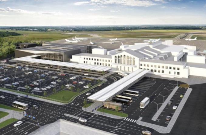 Проект нового терминала в аэропорту Вильнюса