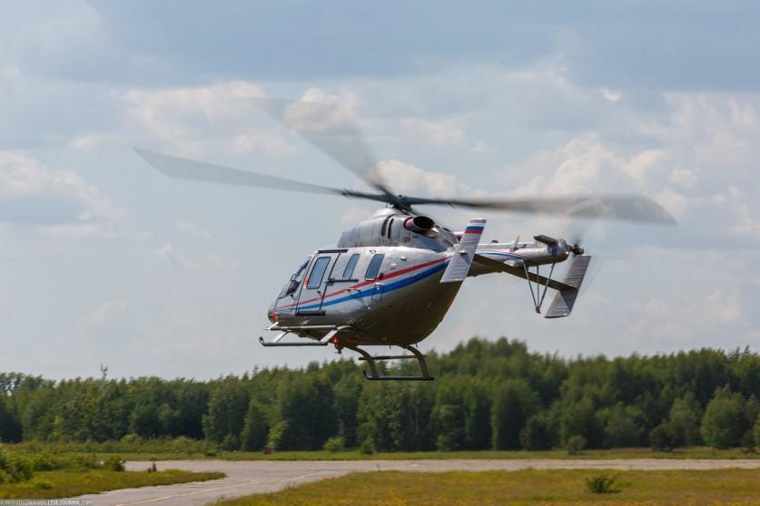 Вертолетные прогулки в Казани