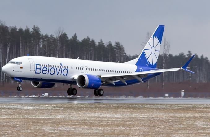"737 MAX 8 авиакомпании ""Белавиа"""