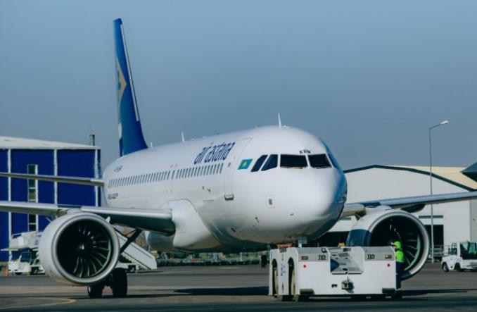 A320 авиакомпании Air Astana