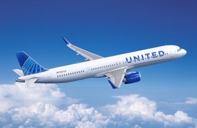 A321neo авиакомпании United Airlines