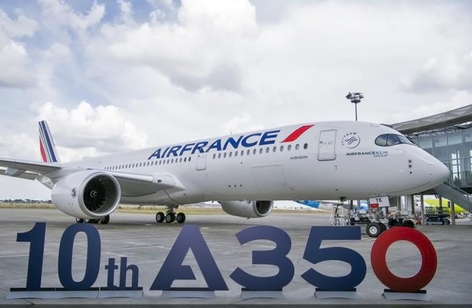 10-й Airbus A350 для Air France