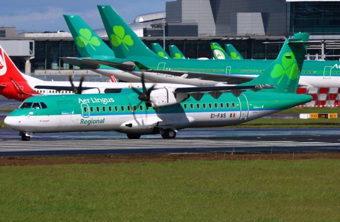 ATR-72-600A авиакомпании Aer Lingus Regional