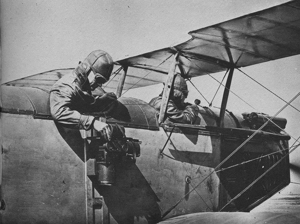 Аэрофотосъемка во время Первой мировой войны