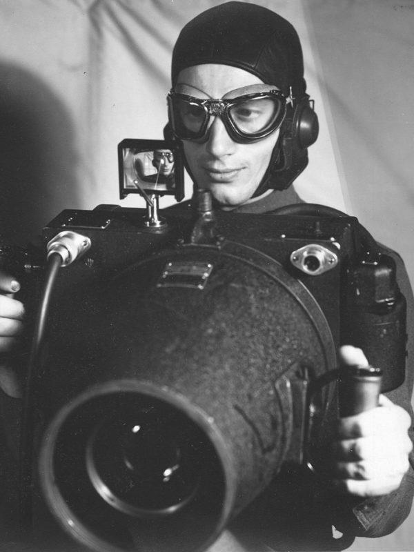 Фотоаппарат для аэрофотосъемки времен Второй мировой войны