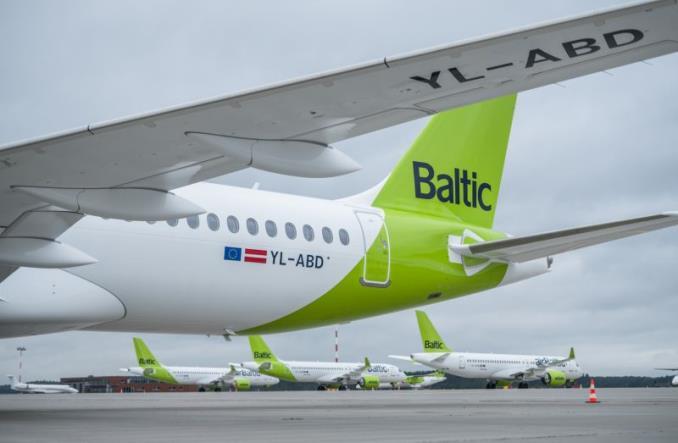 30-й A220 для airBaltic