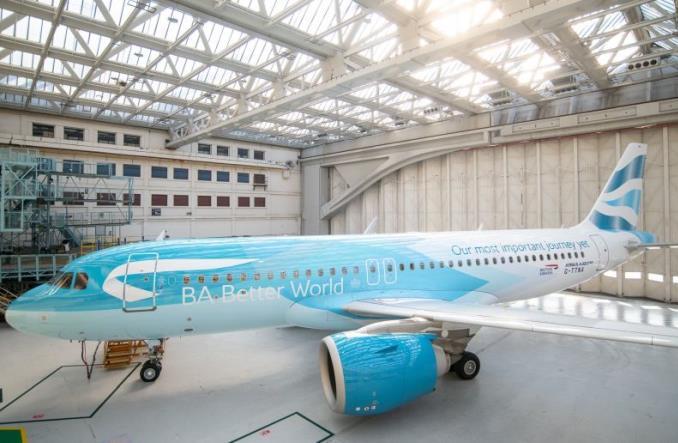 Airbus A320neo в ливрее BA Better World