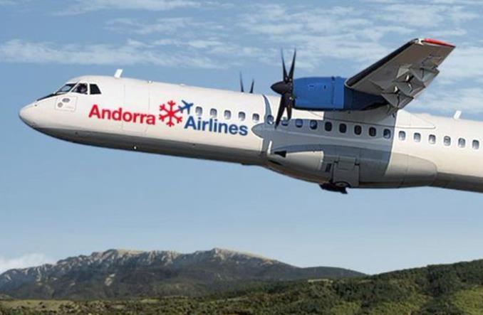 ATR 72-50 авиакомпании Andorra Airlines