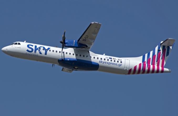 ATR-72 авиакомпании SKYExpress
